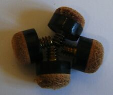 4 x Screw on Tips for Pool Snooker Cues All Sizes NEW
