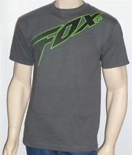 Fox Racing Redcard Tee Mens Charcoal Gray Graphic T-Shirt New NWT