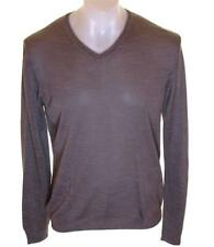 Bnwt Authentic Mens French Connection V Neck Viscose Jumper Sweater New Fcuk