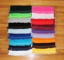 Blank Baby Bib matching neck ribbing on 100% cotton towel, choose from 15 colors