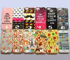 1x New Various Printed Soft Gel skin case back cover for iphone 5 5S