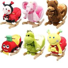 BABY INFANT KIDS ANIMAL CHARACTER ROCKERS WITH ROCKING NURSERY RHYMES ROCKING
