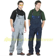 Click Traders Bib and Brace Overalls Coveralls Workwear Elasticated Braces Mens