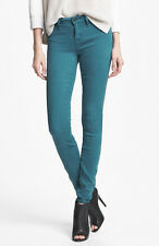 MARC BY MARC JACOBS Mid Rise Stick Skinny Stretch Jeans in Horizon Teal Blue$168