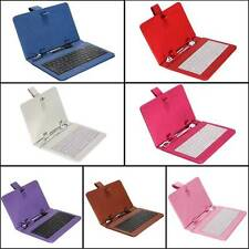 UNIVERSAL 7 INCH ANDROID MAGNETIC FOLD CASE STAND WITH USB KEYBOARD PC TABLET