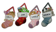 Waiting For Santa Personalised Stockings Fireplace Decoration  Special