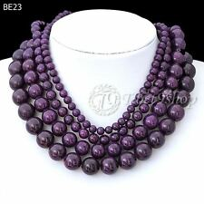 40cm/16inch Purple Synthetic Turquoise Wholesale Beads String