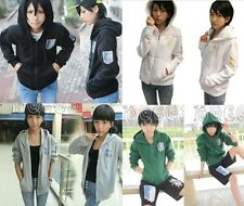 Attack on titan & shingeki no kyojin Investigation Hoodies Jackets Coats 9 Color