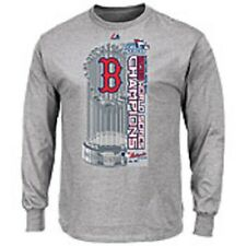 Boston Red Sox Men's 2013 World Series Champions Locker Room Long Sleeve T-shirt