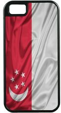 Rikki Knight Singapore Flag TOUGH-IT Case for iPhone 4/4s, 5/5s