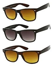 The Arizona Bifocal Wayfarer Sunglasses Sun Reader Spring Temple Various Power
