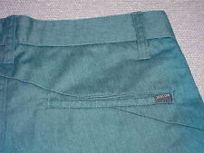 NEW VOLCOM SHORTS FRICKIN CHINO RELAXED TEAL MEN'S ~CHOOSE SIZE FREE SHIP