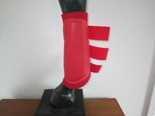 Horse Arena or Work & Exercise Boots More Protection RED & all AUSTRALIAN MADE