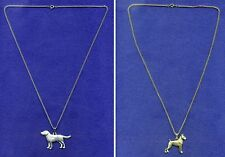 CHAINS 24 in. WHITE OR YELLOW GOLD PLATED FOR HARRIS PENDANTS - FREE US SHIPPING