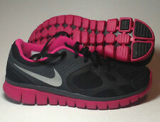New NIB Nike Flex Running Shoe Fireberry Black 487789-009 Women Sz 6 6.5 9.5 11