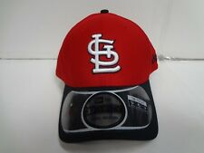 St. Louis Cardinals Cap New Era 39Thirty Stretch Fit Fitted Hat DE Reverse MLB