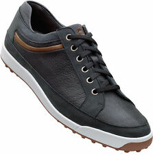 FootJoy Contour Casual Spikeless Golf Shoes Black Mens Closeout 54284 New