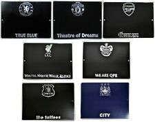 OFFICAL FOOTBALL CLUB - METAL HOUSE DOOR NUMBER SIGN PLAQUE PLATE WALL XMAS GIFT