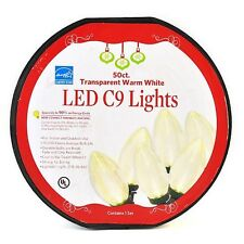 Everstar Led C9 Lights - 50 Count      NEW IN DISTRESSED PACKING-ITEM IS PERFECT