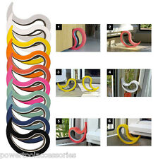 STOPPY - Rubber Door Stop Jam, Door Wedge & Window Stopper - Range of 13 Colours