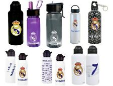 OFFICAL REAL MADRID FC - WATER SPORTS DRINKS BOTTLE ALUMINIUM - CHOOSE GIFT XMAS