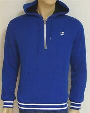 DC Shoes Mens Royal Blue Half-Zip Pullover Hoodie Sweatshirt Jacket New NWT