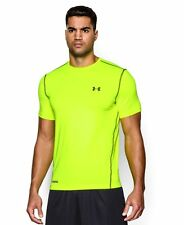Under Armour Men's HeatGear Sonic Fitted Short Sleeve