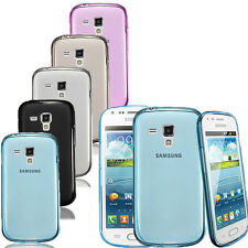 TPU Silicone Gel Housse Etui Coque Pour Samsung Galaxy S Duos S7562/Trend S7560