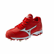 Mizuno 9-Spike Advanced Sweep Women's Metal FP Softball Cleats - RED #320422