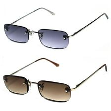 Rimless Spring Temple Sun Reader Men Women Reading Glasses Sunglasses - SR15
