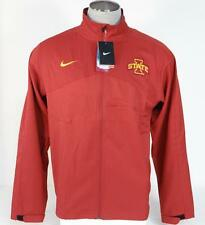 Nike Dri Fit Collegiate Cardinal Red Iowa State Windbreaker Jacket Mens NWT