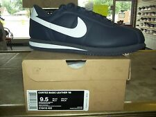 Nike Cortez Leather 06 Various Size 316418-402 (Color is Obsidian or Dark Blue)