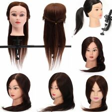 Pro Salon Hairdressing Haircutting Training Head Mannequin free Clamp US 7 Style