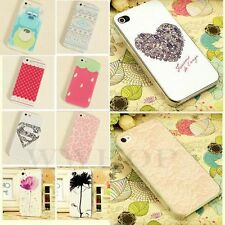 New Hot Paint Pattern Phone Hard Back Skin Case Cover for Apple IPhone 4 4S 5 5S