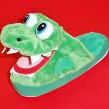 NEW Boy's Youth's STOMPEEZ GROWLIN' DRAGON Green Slippers Slip On Casual Shoes