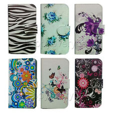 luxury Wallet Card Holder Full Cover Case For HTC LG mobile phone