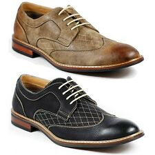 Ferro Aldo Mens Lace Up Dress Classic Shoes w/ Leather lining M-19266