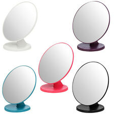 New Premier Bathroom Stand Alone Small Swivel Beauty Make Up Mirror 16 x 16cm