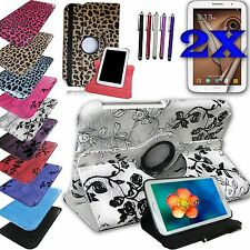 For Samsung Galaxy NOTE 8.0 Tablet Rotating Leather Cover Case Accessory Bundle