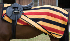 SHIRES NEWMARKET EXERCISE SHEET 30 wool warm dry stripe winter rug shows horse