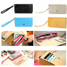 Hot Women Envelope Wallet Bag Samsung Galaxy S2 S3 Iphone 4 4S Phone Case Purse
