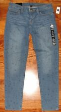 NWT GAP Women's Premium Super Skinny Ankle Jeans Pants Blue size 4 / 27 Regular