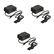 3X Micro USB Wall Home Travel Charger Accessory Black 1 Amp for Cell Phones
