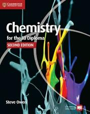 NEW Chemistry for the IB Diploma Coursebook with Free Online Material by Steve O