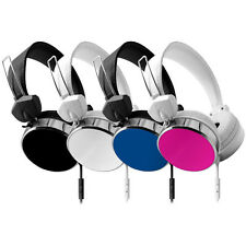 Hype Audio Stereo Eclipse Performance Headphones w/ Inline Mic & Answer Control