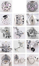 925 Sterling Silver Jaime 2014 New Comers fit European Charm Beads Bracelets