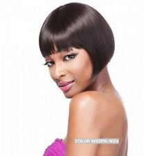 IT'S A WIG HH SMOOTHIE 100% HUMAN HAIR SYNTHETIC MIXE BOB STYLE SHORT LENGTH WIG