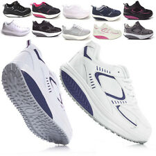 NUOVO! SCARPE SNEANERS  FITNESS DONNA DIMAGRANTI RUNNER SPORTIVE GINNASTICA
