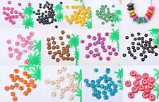 100pcs 500pcs Charm Wood Abacus Spacer Beads For DIY Bracelet Necklace bead