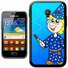 Blonde Hair Magician Holding Wand Making Magic Case For Samsung Galaxy ACE 2